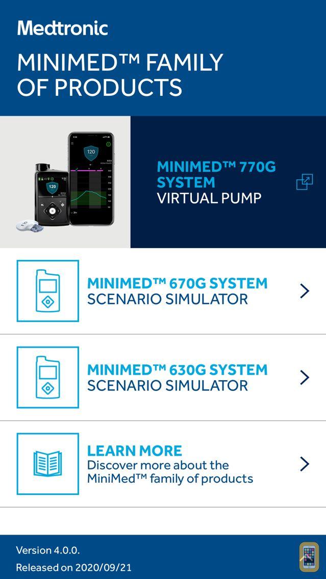 Screenshot - MiniMed™ 670G System Simulator