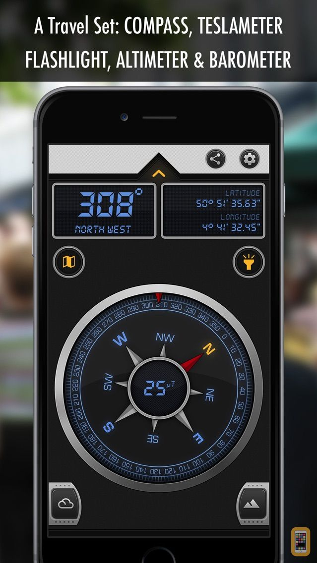 Compass X - GPS Magnetic North for iPhone & iPad - App Info