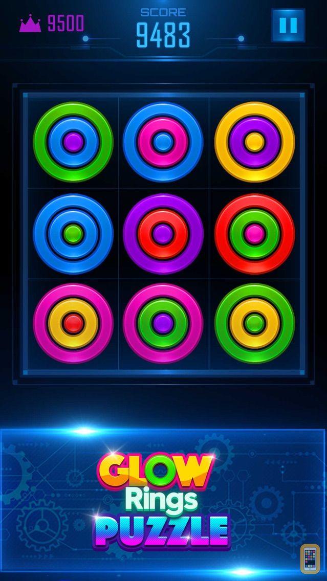 Screenshot - Glow Rings Puzzle