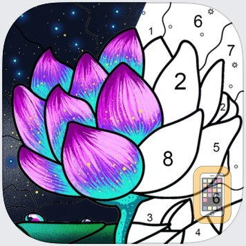 Paint By Number: Coloring Book by DAILYINNOVATION CO., LIMITED (Universal)