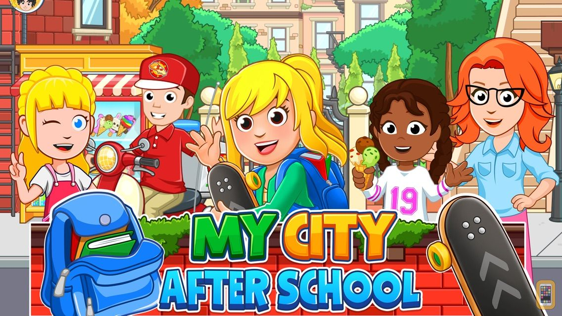 Screenshot - My City : After School