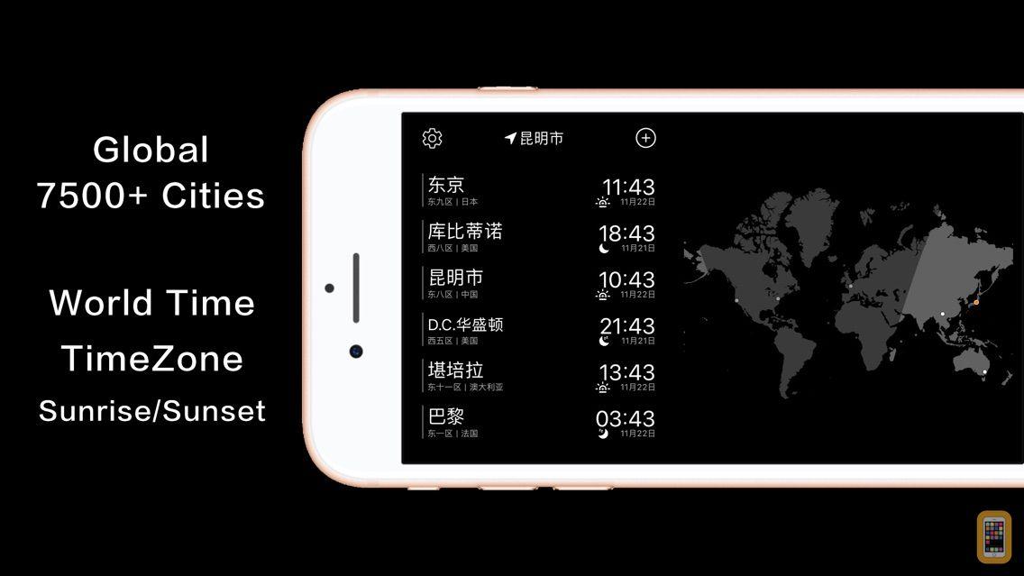 Screenshot - MissTime - Pocket world clock