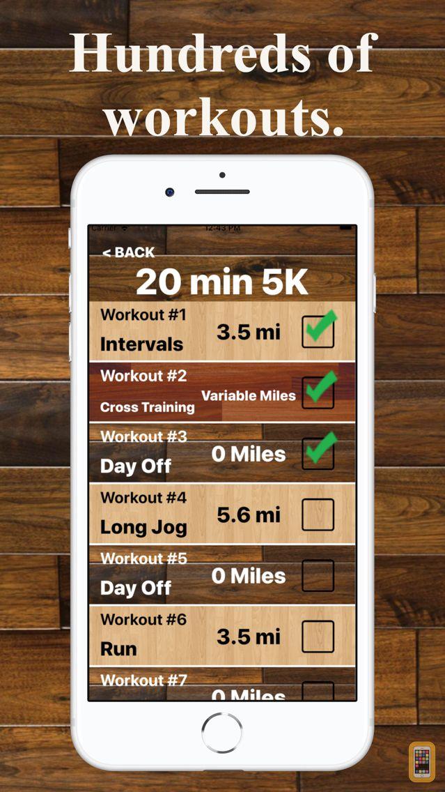 Screenshot - Treadmill Trainer Workouts