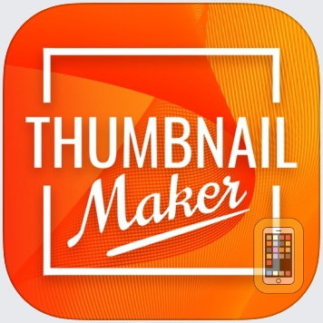 Thumbnail, Banner Maker for iPhone & iPad - App Info & Stats | iOSnoops