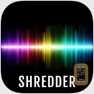 Audio Shredder AUv3 Plugin by 4Pockets.com (Universal)
