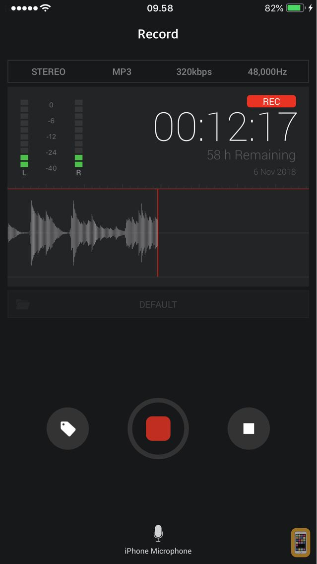 Screenshot - Awesome Voice Recorder X PRO