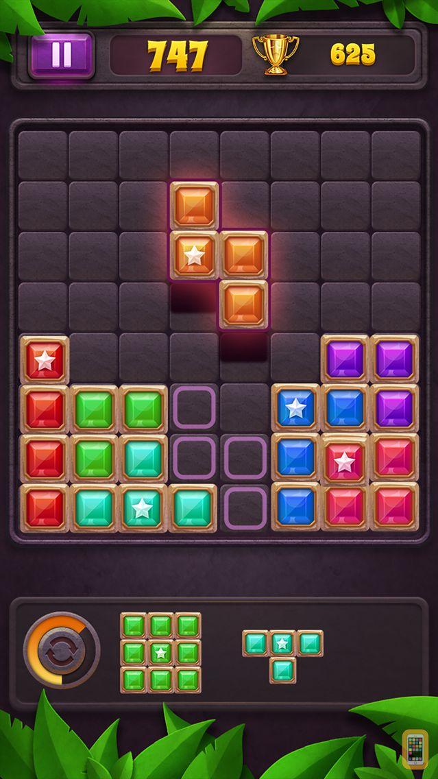 Screenshot - Block Puzzle: Star Gem