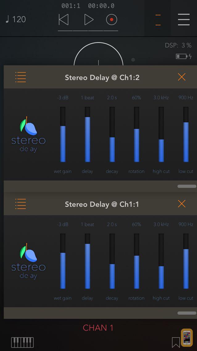 Screenshot - Stereo Delay