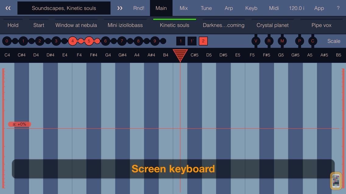 Screenshot - SynthScaper LE