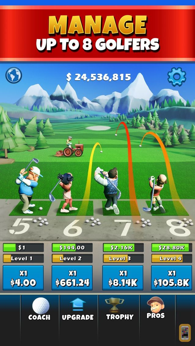 Screenshot - Idle Golf