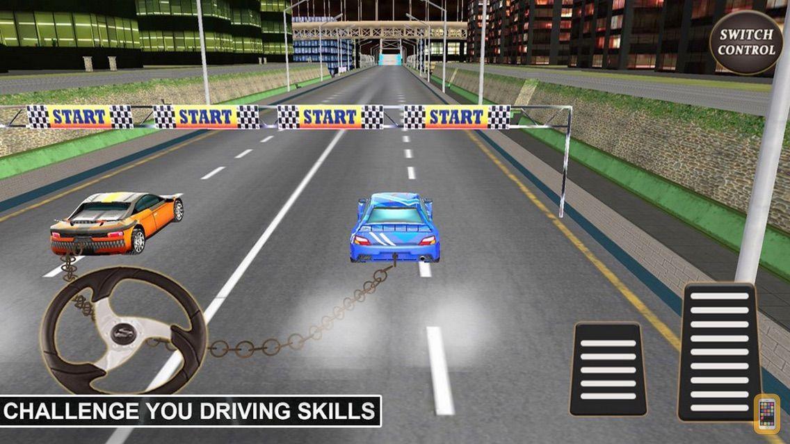 Screenshot - Fierce Race Chained Cars