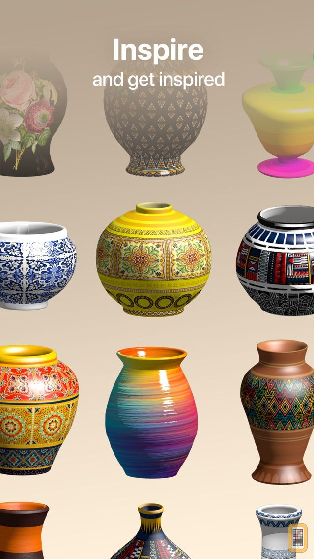 Screenshot - Pottery.ly 3D– Ceramic Maker