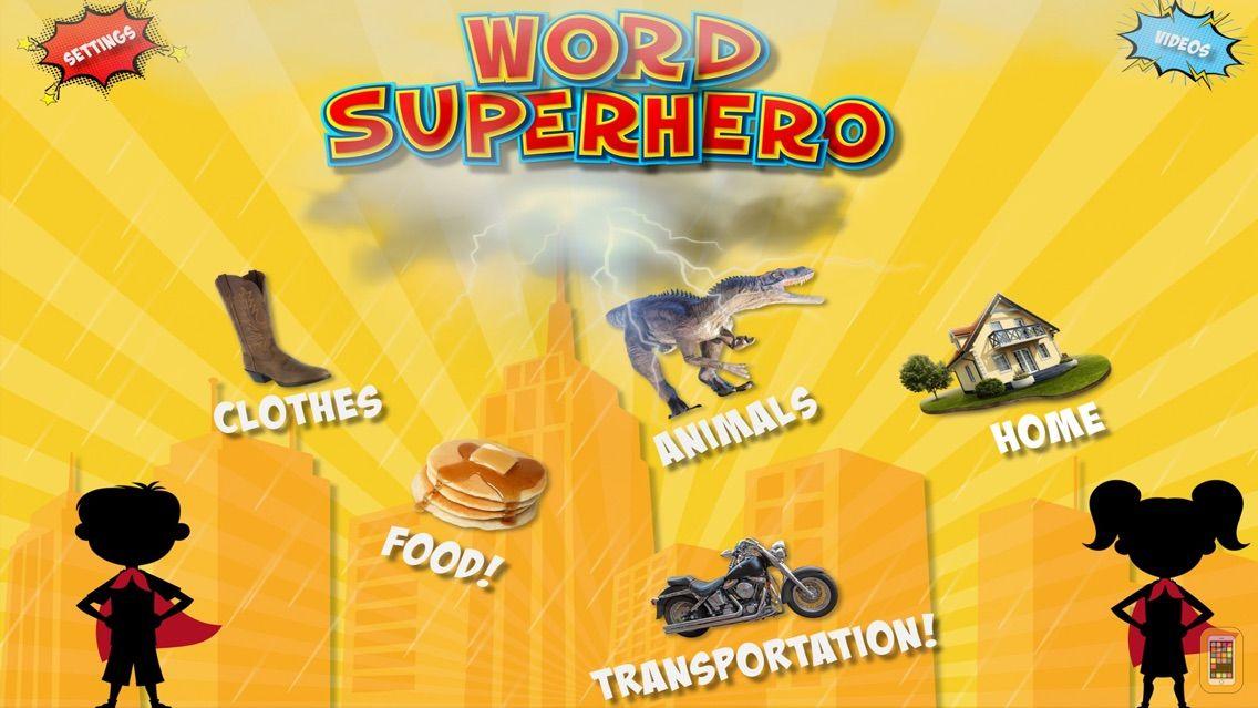 Screenshot - Word Superhero