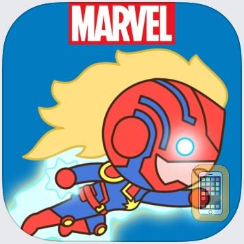 Captain Marvel Stickers for iPhone & iPad - App Info & Stats | iOSnoops