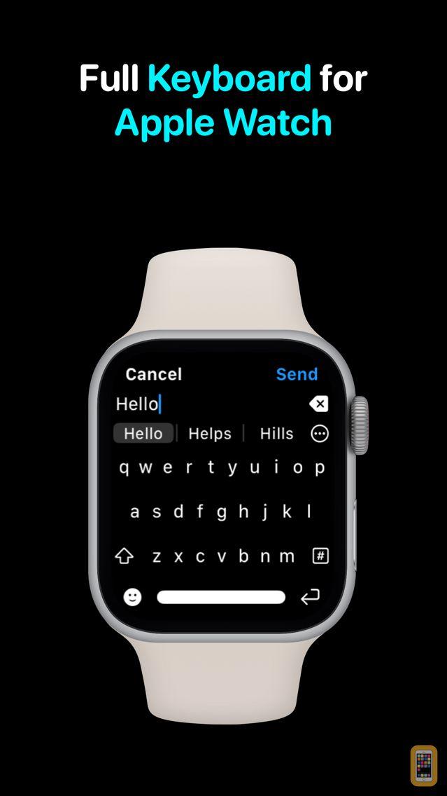 Screenshot - Shift Keyboard - Watch & Phone