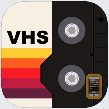VHS Cam: Vintage Video Filters by Fitness Labs (iPhone)