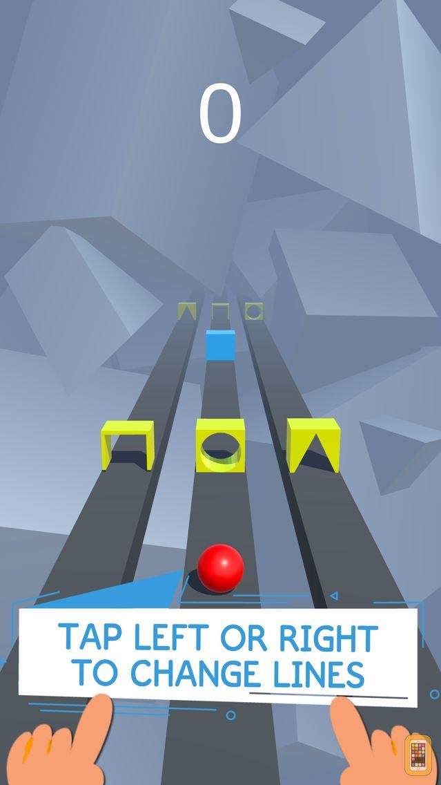 Screenshot - Race Road: Color Ball Star 3D