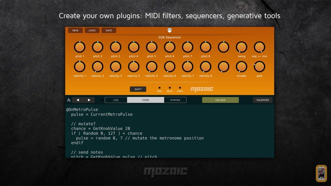 Screenshot - Mozaic Plugin Engine
