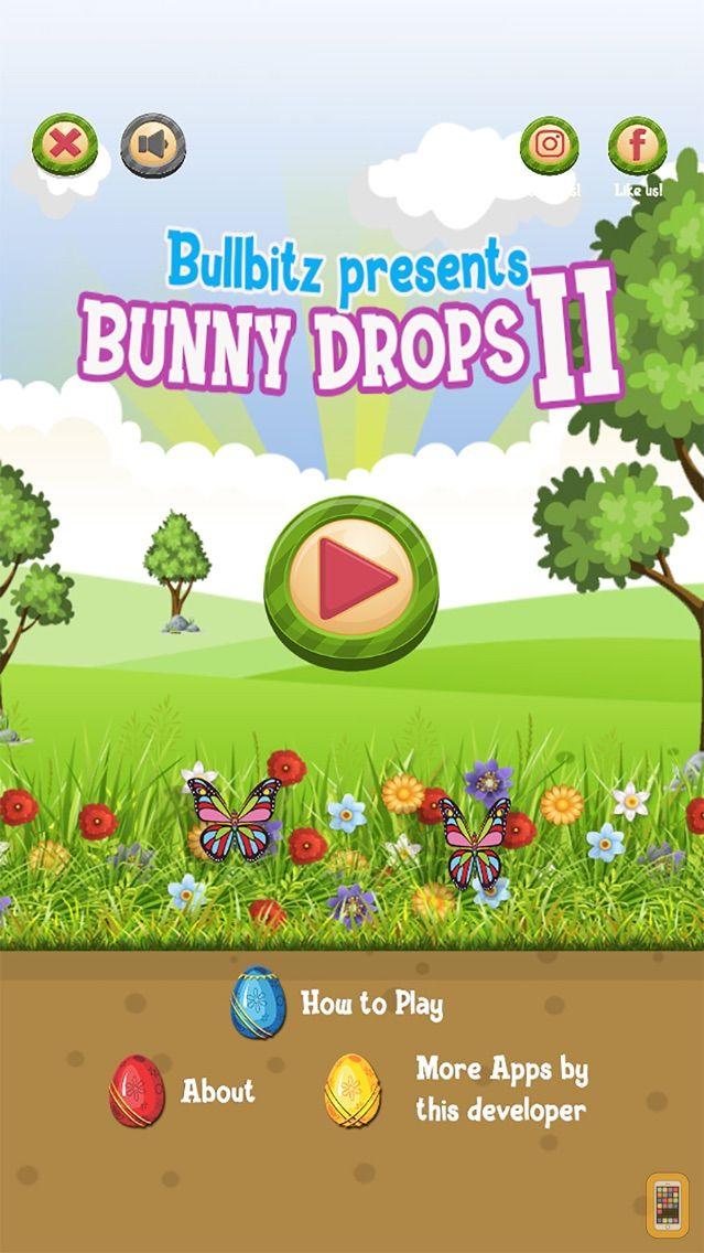 Screenshot - Bunny Drops 2 - Match 3 puzzle