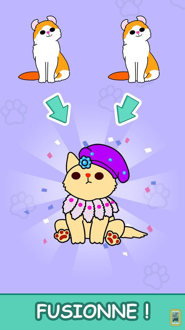 Screenshot - Cats Tower - Merge Kittens 2