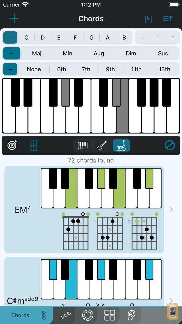 Screenshot - Tonality - Music Reference
