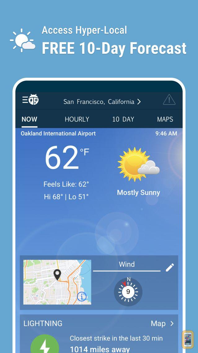 Screenshot - WeatherBug – Weather Forecast