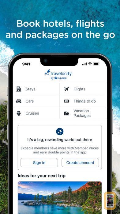 Screenshot - Travelocity Hotels & Flights