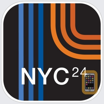 NYC Subway 24-Hour KickMap by KICK Design Inc (iPhone)