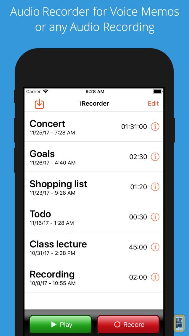 Screenshot - iRecorder Pro Audio Recorder