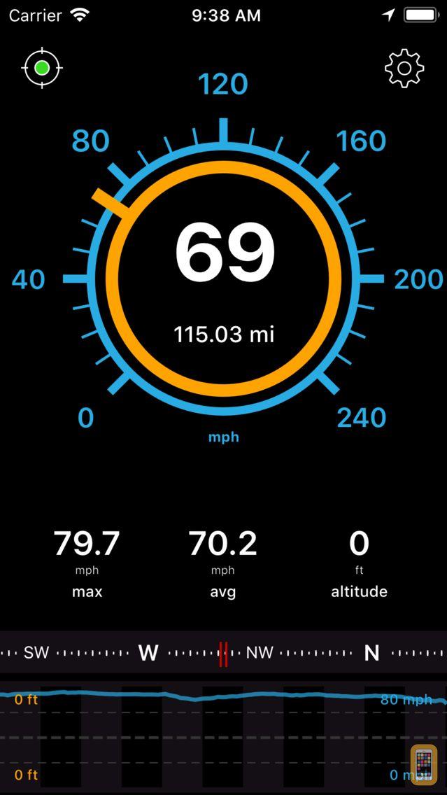 Screenshot - Speedometer Speed Box