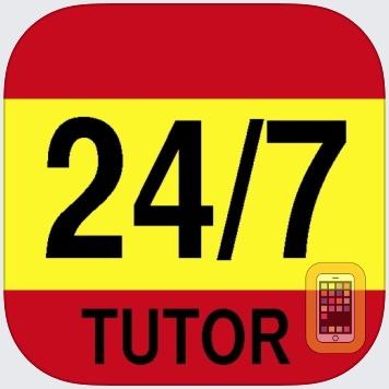 Spanish Vocabulary 24/7 Language Learning by 24/7 TUTOR INC. (Universal)