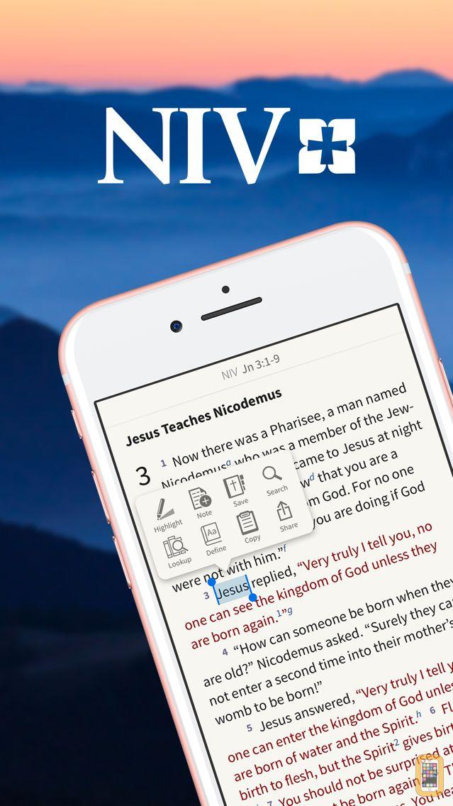 Screenshot - NIV Bible App +