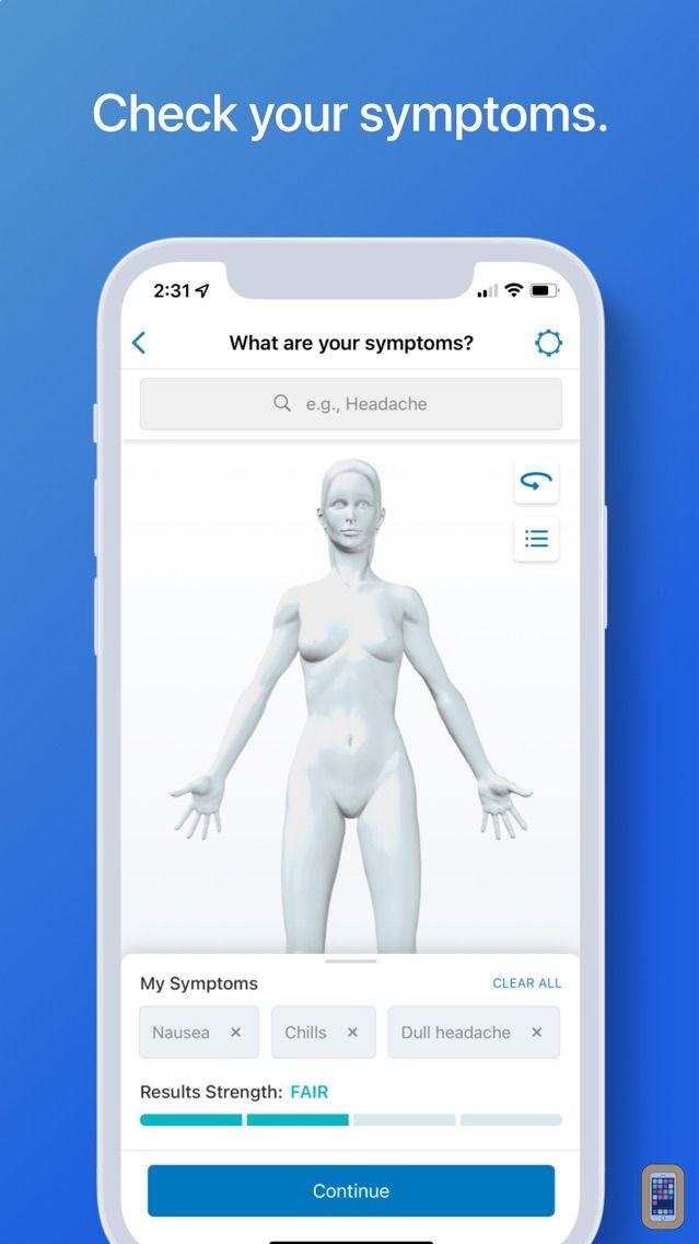 Screenshot - WebMD: Symptoms, Doctors, & Rx