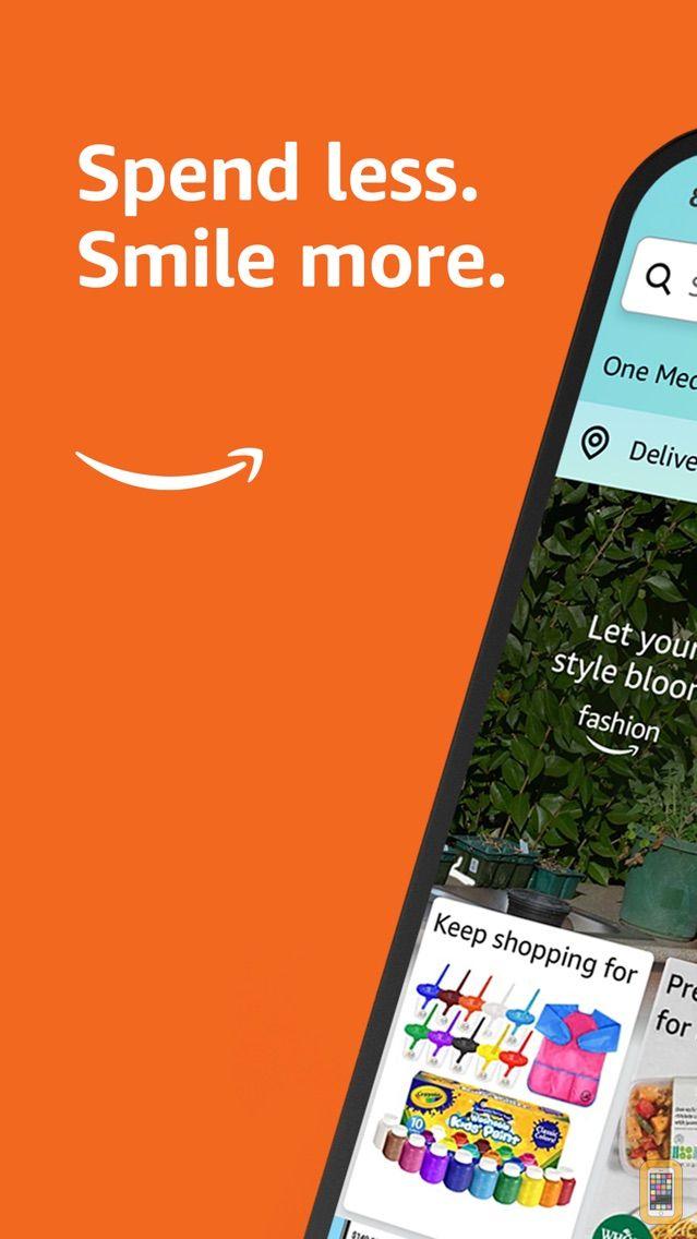 Screenshot - Amazon - Shopping made easy