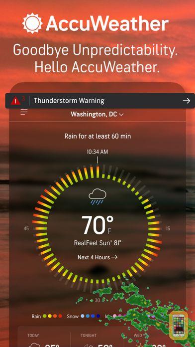 Screenshot - AccuWeather: Weather Alerts