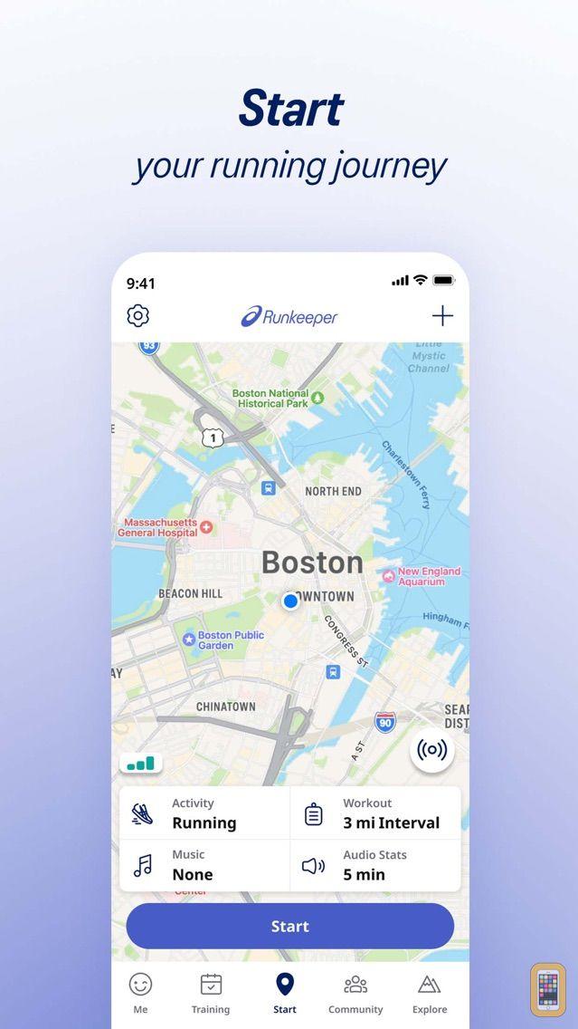 Screenshot - Runkeeper—GPS Running Tracker