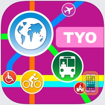 Tokyo City Maps - Discover TYO with MTR & Guides by Networking 2.0 (Universal)