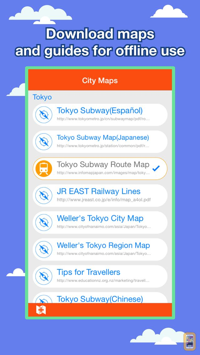 Screenshot - Tokyo City Maps - Discover TYO with MTR & Guides
