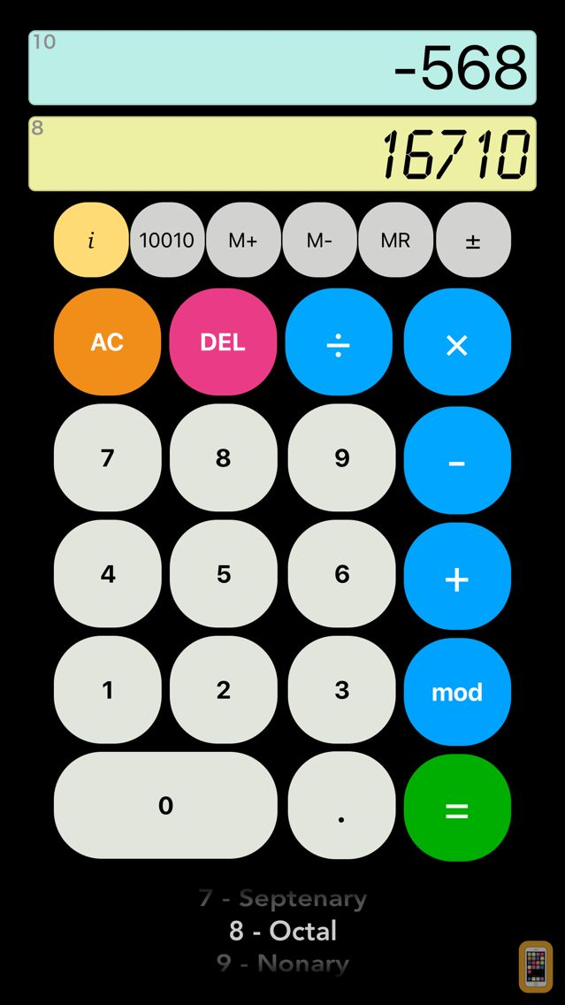 Screenshot - Binary Calc