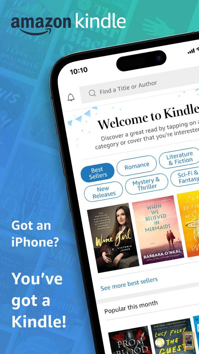 Screenshot - Amazon Kindle
