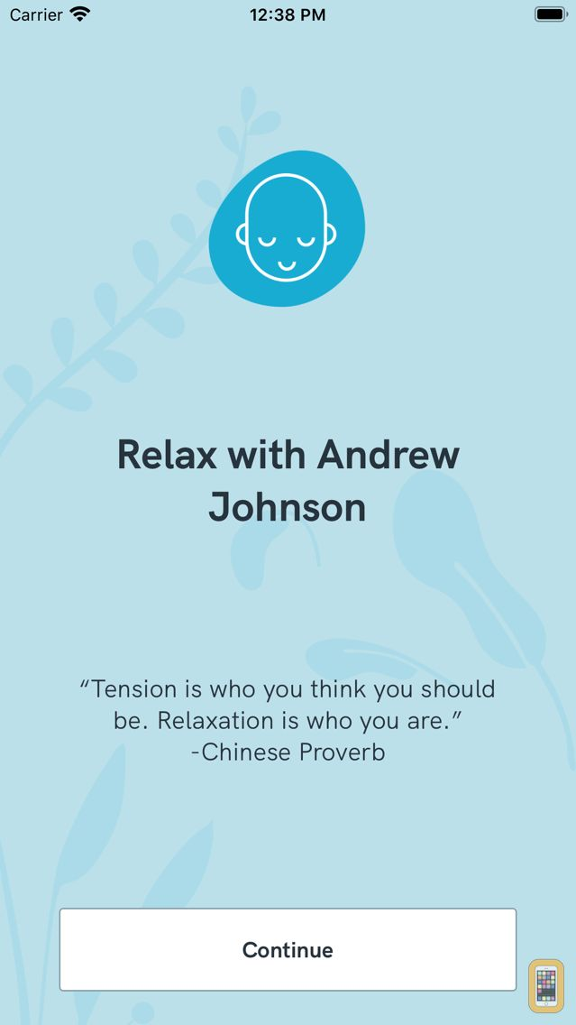 Screenshot - Relax with Andrew Johnson