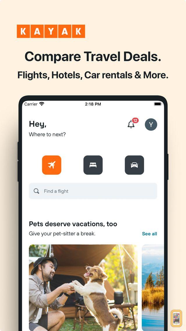 Screenshot - KAYAK Flights, Hotels & Cars