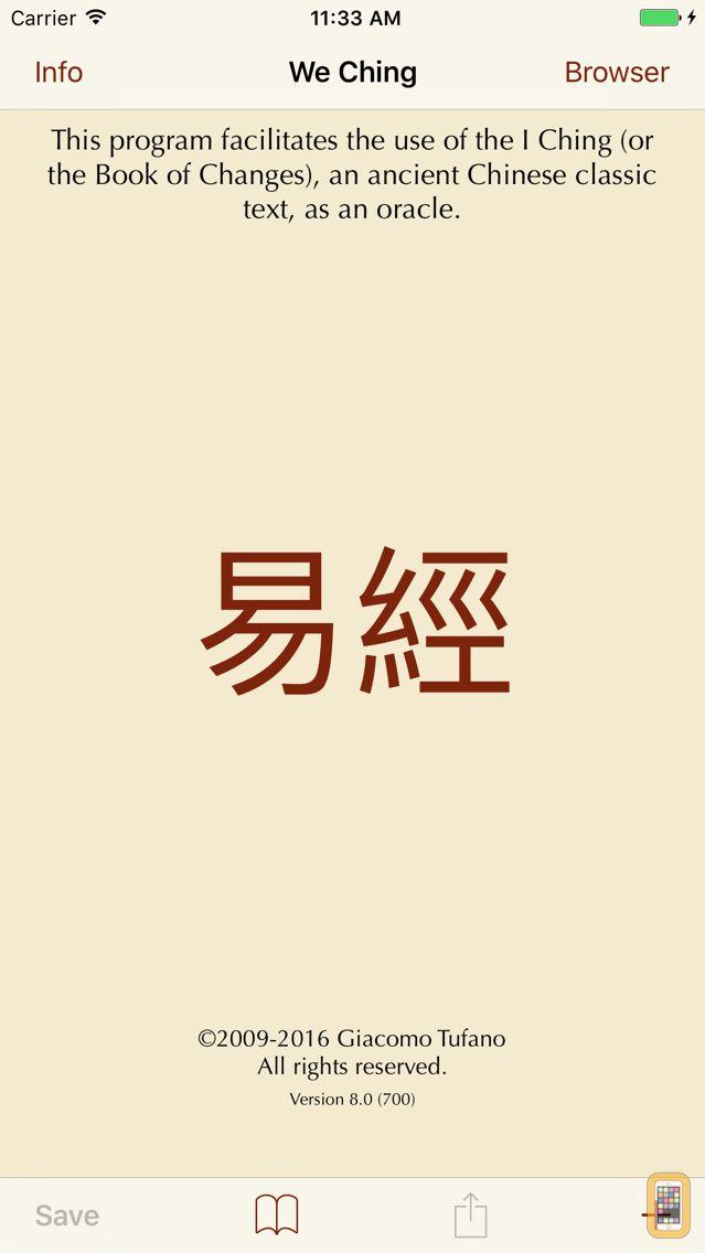 Screenshot - I Ching 2: an Oracle