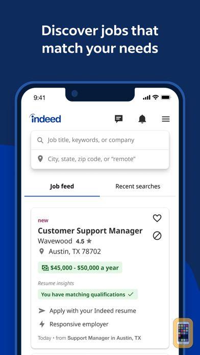 Screenshot - Indeed Job Search