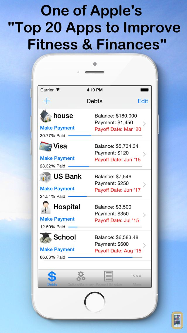 Screenshot - Debt Snowball Pro - Pay Debt