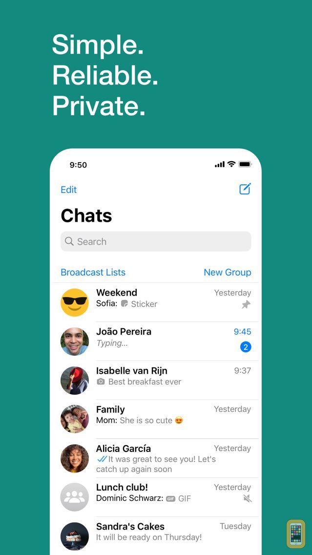 Screenshot - WhatsApp Messenger