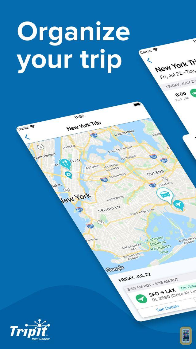 Screenshot - TripIt: Travel Planner
