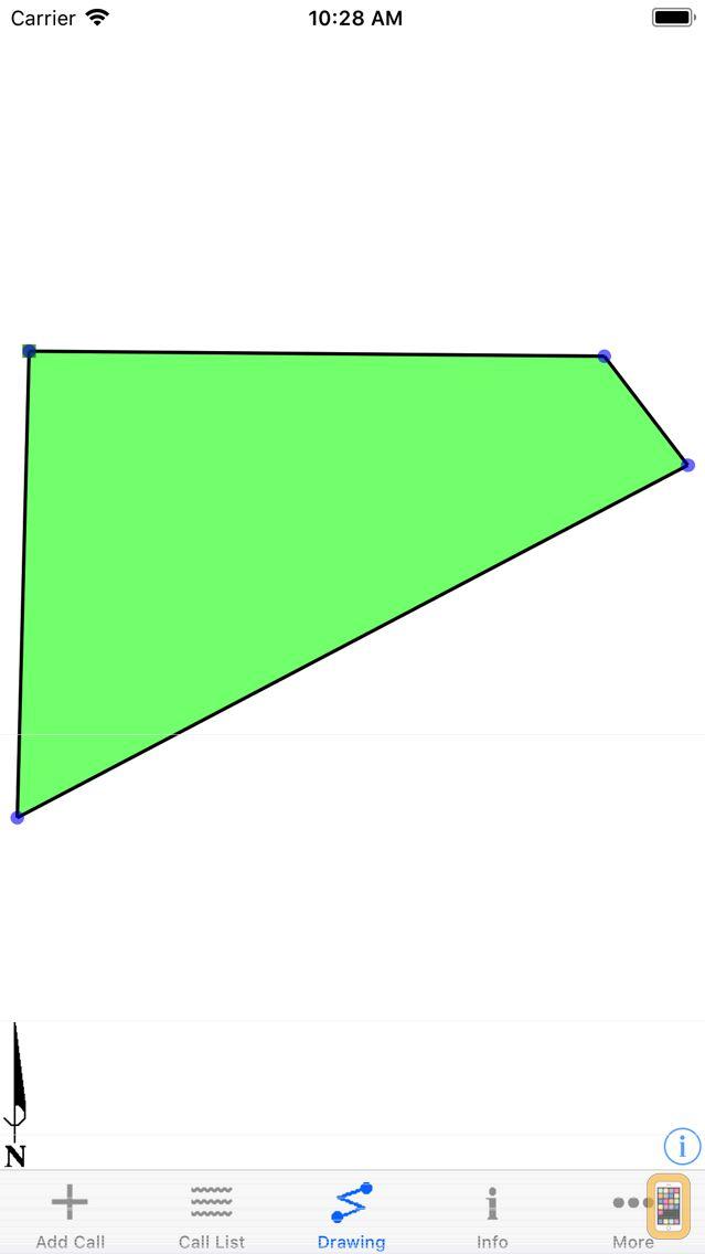 Screenshot - Metes and Bounds Basic