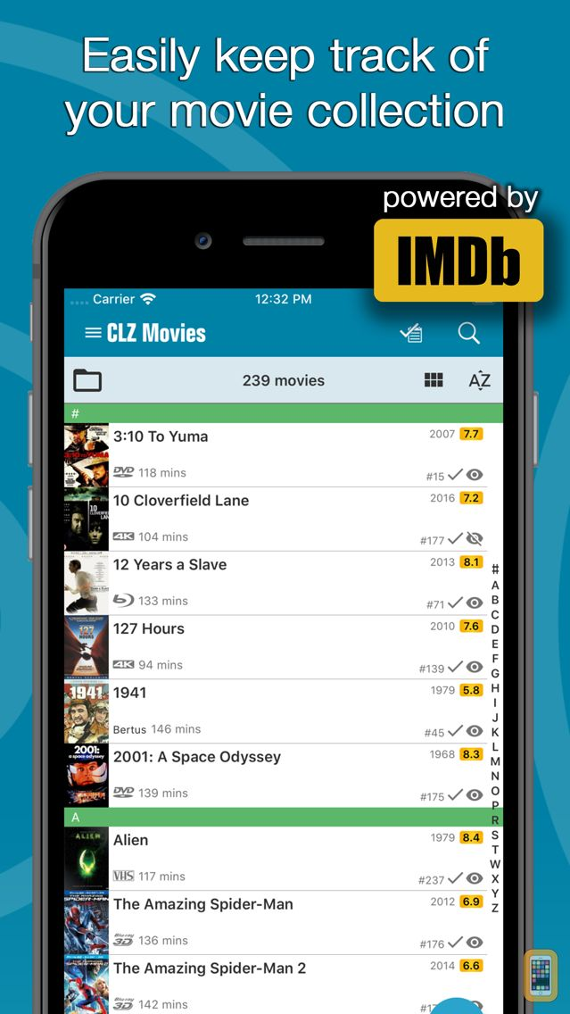 Screenshot - CLZ Movies - Movie Collection Database