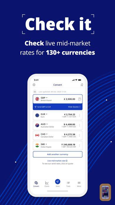 Screenshot - XE Currency